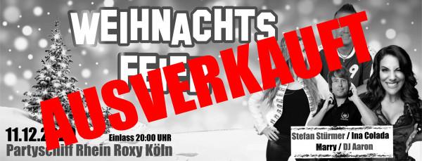 Weihnachtsfeier Partyschiff Köln - 11.12.2020