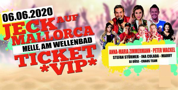 VIP Ticket Jeck auf Mallorca - 06.06.2020 in Melle