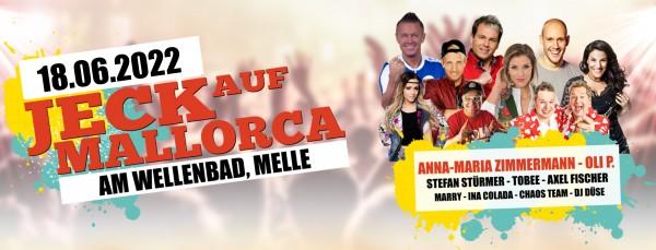 Jeck auf Mallorca Gruppenticket - 18.06.2022 in Melle